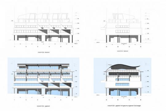 Umgestaltung eines Bürogebäudes im Taunus
