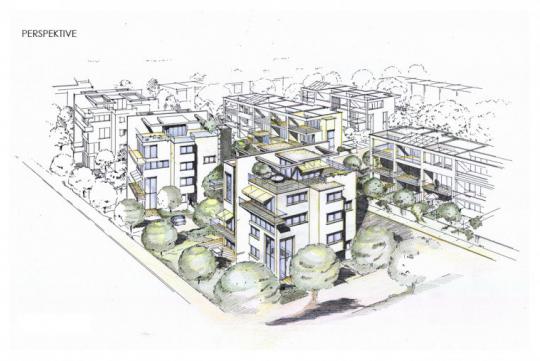 Städtebauliche Studie Berkersheimer Weg