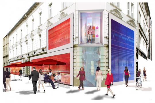 Ideenwettbewerb Mauritius Einkaufsgalerie