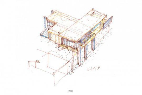 Umgestaltung einer Villa im Taunus