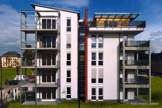 Quartierbebauung Waldstraße